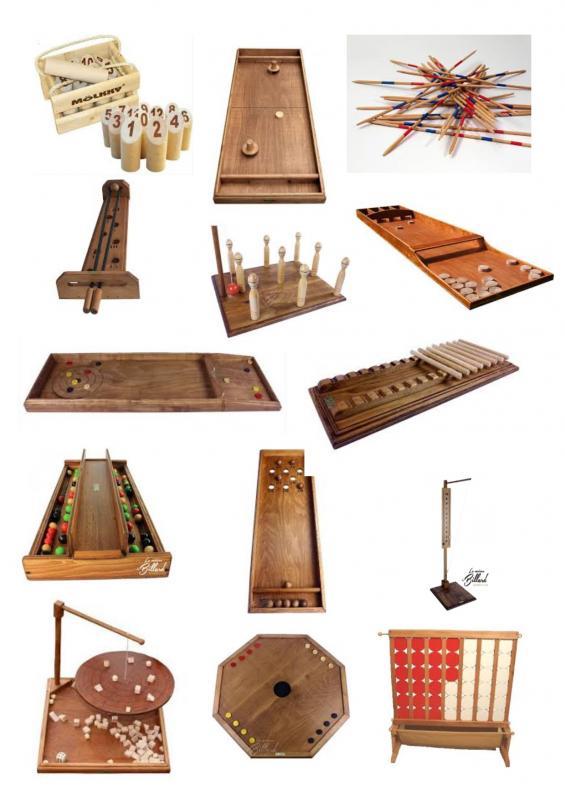 Jeux geants en bois